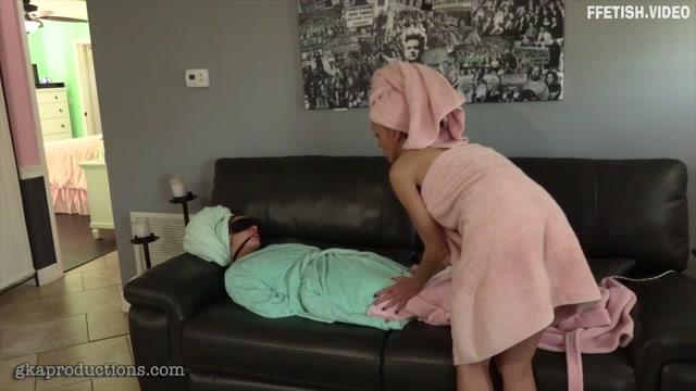 Ginary - Ama Rio & Slyyy Kinky Lesbian Towel Fun 00015