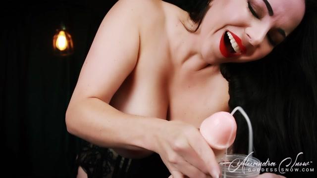Goddess Alexandra Snow - Mysterious Cum Ritual 00012