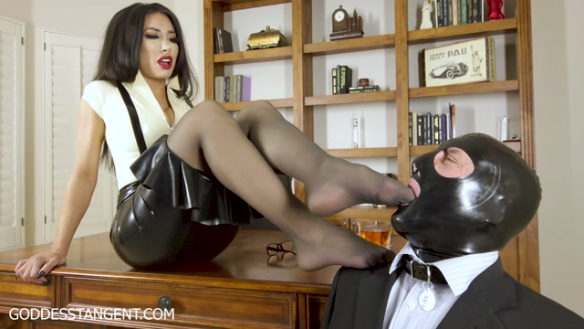 Goddess Tangent - Punished For The Wrong Drink - Femdom 00009