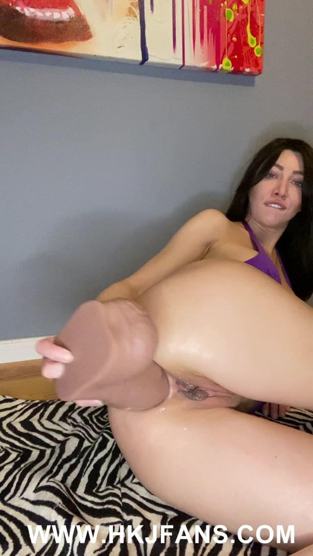 Watch Online Porn – HKJ 2021-03-10 Big gape and big dildo – BIG VIDEO (MP4, UltraHD/2K, 1080×1920)