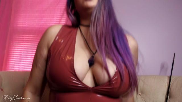 Kelly Sunshine - Big Tits Findom Squeeze 00009