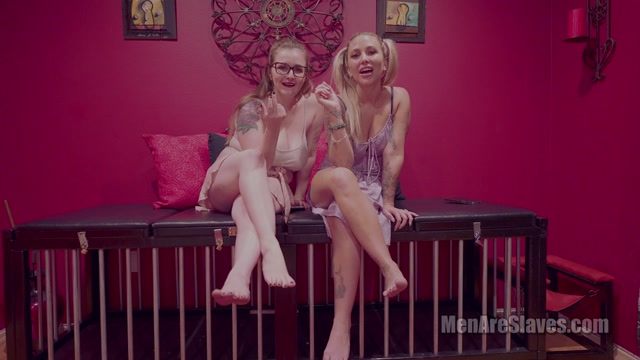 Men Are Slaves - Sorceress Bebe, Mistress Anasia - Time Flies When You