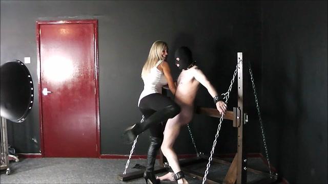 PUNISHED COCK AND BALLS Mistress Elise - Ballbusting 00007