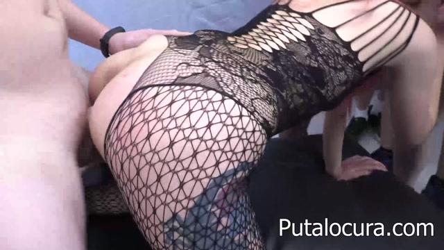 Watch Online Porn – PutaLocura presents Gisela – CreampieGangbang (MP4, FullHD, 1920×1080)