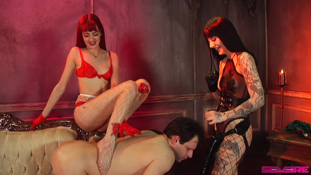 Severe Sex Films - Zoe Sparx, Charlotte Sartre - Double Domination - Part 2 - Strap-On 00014