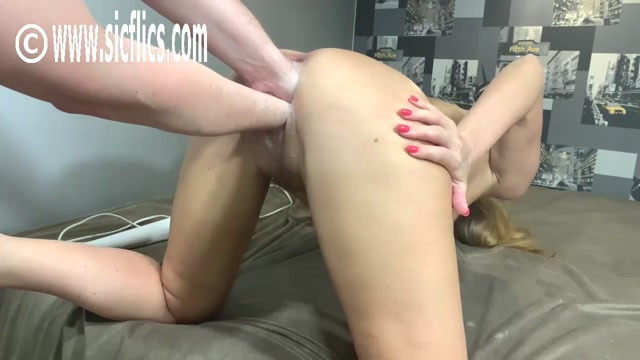 SicFlics presents Double fisting her loose cunt – 07.07.2021 00004