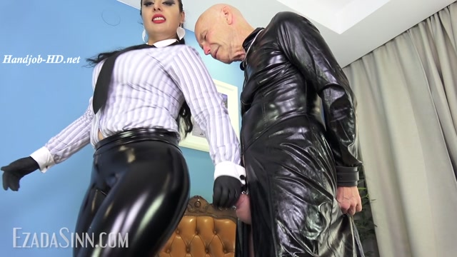 Too aroused in My old vinyl clothes - Mistress Ezada Sinn 00009