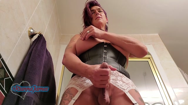 Ts Rianna James – Toilet Slave Tease And Spit – 10.07.2021 00003