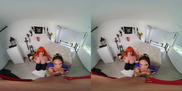 Watch Online Porn – VRCosplayx presents ONE PIECE Nami and Nico Robin A XXX Parody – Katrina Moreno, Blondie Fesser 4K (MP4, UltraHD/2K, 4096×2048)