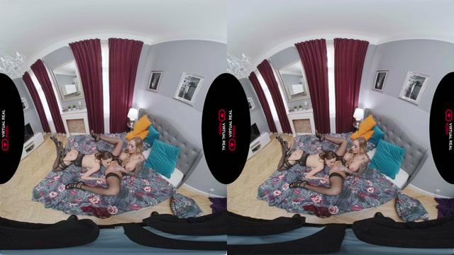 Virtualrealporn presents Seducing the Spy - Daisy Lee, Nicole Love 00002