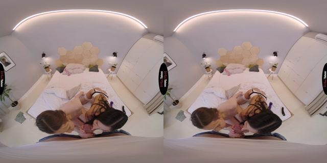 Virtualtaboo presents Meet My New Friend, Daddy - Sasha Rose, Wera Angel 00003