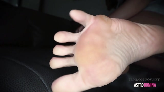 AstroDomina Domesticated Foot Puppy 00009