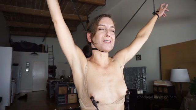 [BDSM] Bondage Liberation – Elise Graves Sybian Choke Predicament 00003