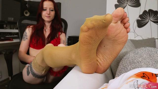 Czech Feet - 11-08-2020 Anna Ch. - Bare feet & Nylons 00000