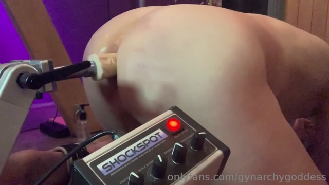 Goddess Gynarchy - Funny Fucking Machine for the Slave 00015