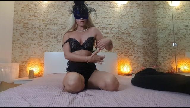 Goddess Natalie - Worship the masked Goddess - seduced and e 00013