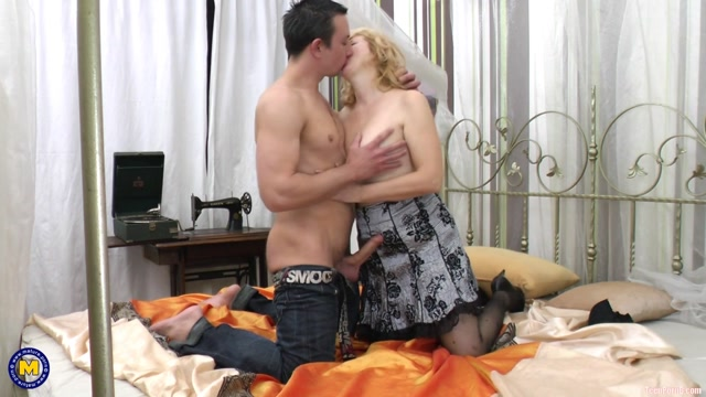 Mature.nl presents Celine H. (53) - Mature Celine makes a steamy amateur sextape with her younger lover Roberto 00006