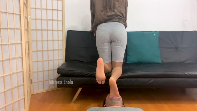 Mistress Enola Fetish - Taste My Feet And Spit 00001