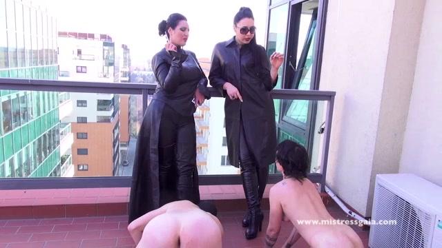 Mistress Gaia - MISTRESS GAIA - SMOKING WITH MY FRIEND MISTRESS EZADA 00004