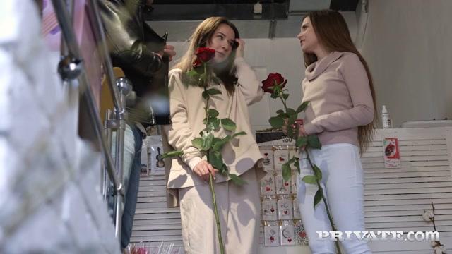 Private presents Bloom Lambie & Bella Grey - Teens Bloom Lambie and Bella Grey Debut in Anal Threesome – 04.08.2021 00000