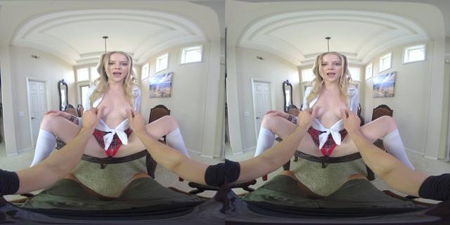 Realjamvr presents Sexy Student and Tutor - Paris White 4K 00000