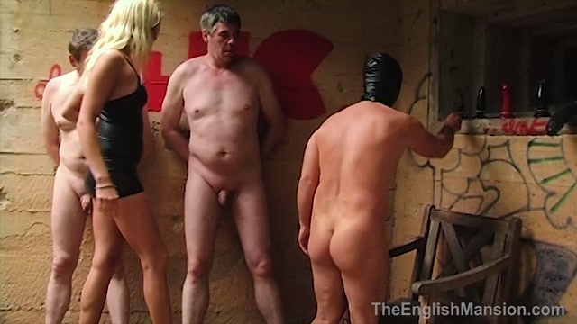 The English Mansion - Lady Natalie Black - Anal Challenge - Upscale - Part 1 - Strap-On 00000