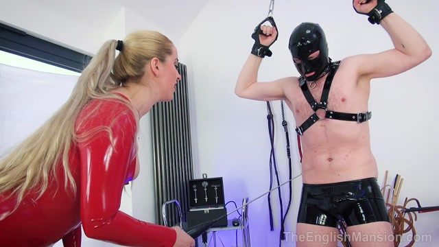 The English Mansion - Mistress Sandra - Domme Lady In Red Pt1 - Part 1 00005