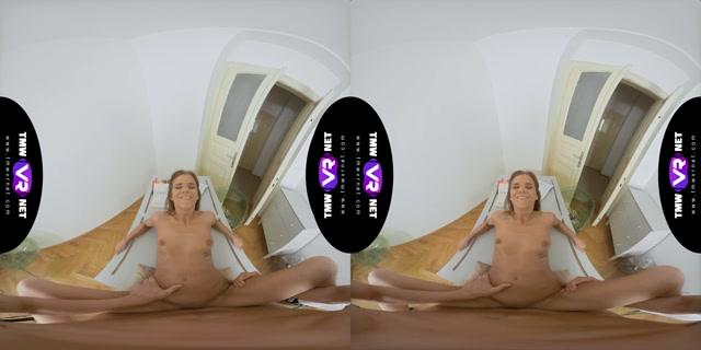 Tmwvrnet presents Hottie Focuses On Her Lad's Cock - Sarah Kay 4K 00008