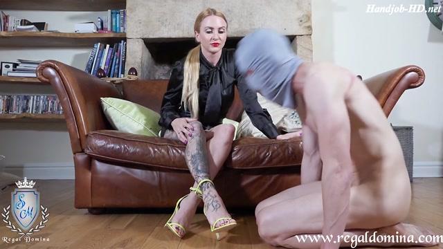 A Slave To My Shoes - Miss Suzanna Maxwell - HandJob 00002