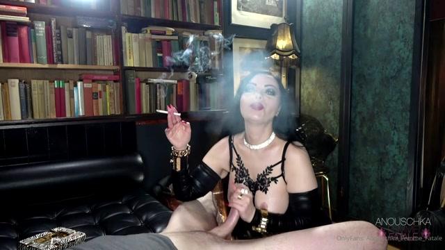 ANOUSCHKA FEMME FATALE Smoking Blowjob And Fuck 00013