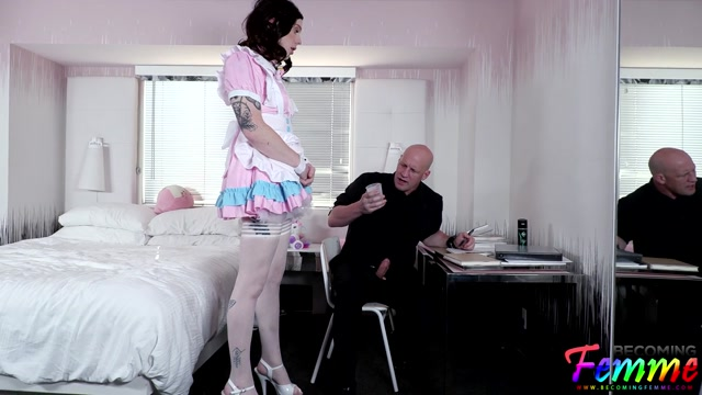 Becomingfemme presents Dazey Dakota Sissy Maid Gets Put In Her Place – 04.09.2021 00000