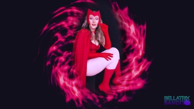 Bellatrix Bandit - Scarlet Witch Mesmerized Foot Worship Part 1 00001