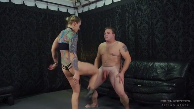 Cruel Anette - Cock kicked hard 00015