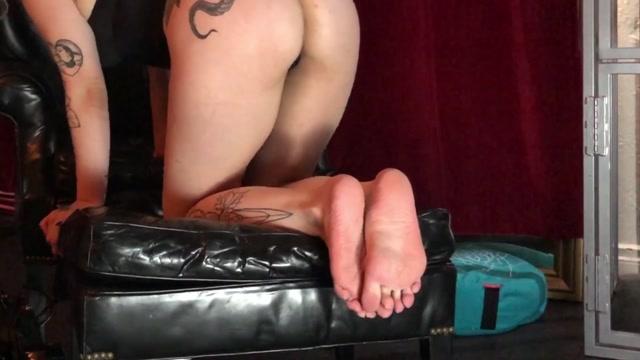 DemonGoddessJ - MarilynWestxxx Femdom Foot Worship 00004