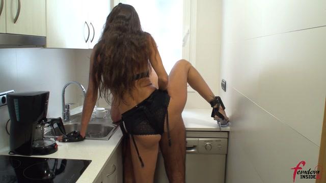 Femdom Insider - Kitchen Slut gets Fucked in the Ass 00004