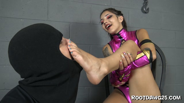 Foot Fetish by Rootdawg25 - Stinky Foot Smelling with Kitty Carrera 00008