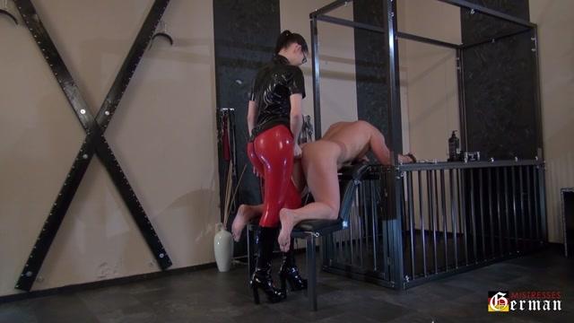 German Mistresses - Deep inside Her slave 00014