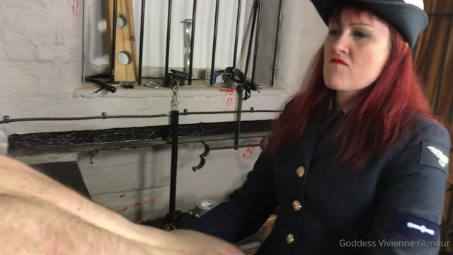 Goddess Vivienne L Amour - Brutal Prison Spitroast 00012
