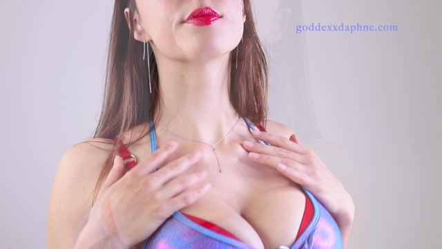 Goddexx Daphne - Gooner Tit Worship Quickie 00010