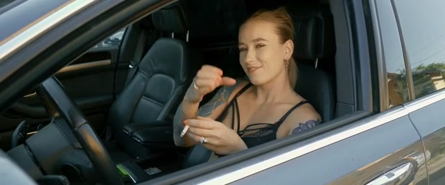 In the car – CRUEL ANETTES FETISH STORE 00015