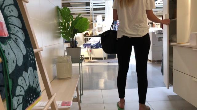 IviRoses Exhibitionist Public Nudit - Risky IKEA anal dildo barefoot - $24.19 (Premium user request) 00007