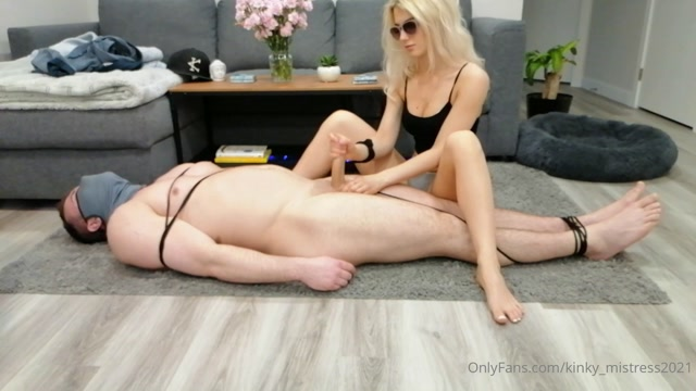 Kinky Mistresses - If I touch you you have to be tied up 00015