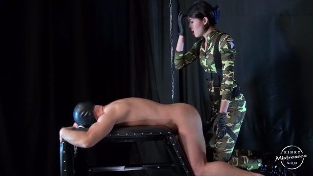 Kinkymistresses - Fetish Nelja - Military Style Strap-on Fuck 00013