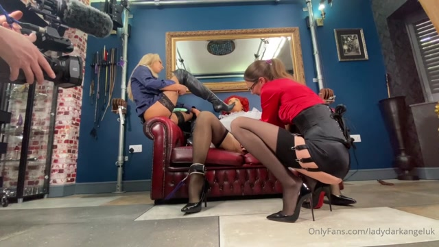 Lady Dark Angel - Preparing For A Scene. What A View 00010