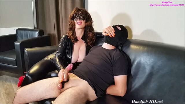 Latex And Leather - Masked Eva - HandJob 00011
