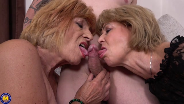 Watch Online Porn – Leon Petra Romana Two grannies sharing a toyboy (MP4, HD, 1880×1060)