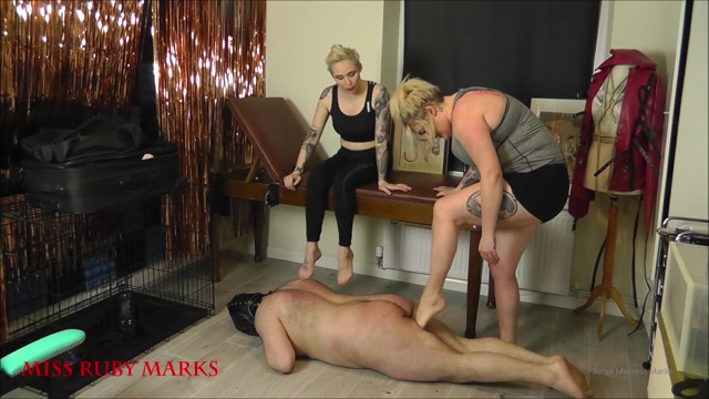 Miss Ruby Marks - Trampling The Pilates Butterball Part 1 00004
