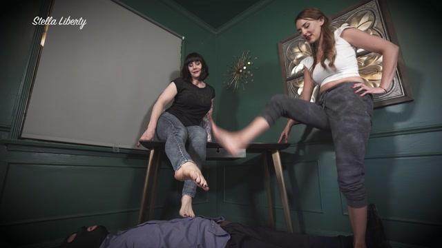 Mistress Stella Liberty In Scene: Foot Dommes – STELLALIBERTYVIDEOS 00014