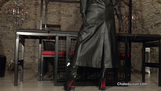Obey your strict leather Goddess 00001