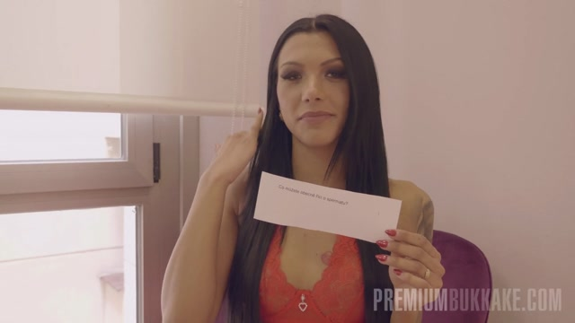 PremiumBukkake presents Adelle Sabelle 1 bukkake  interview 00005